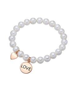 Bratara cu talismane in forma de inima