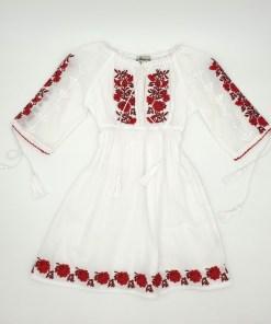 Rochie traditionala fetite Anina