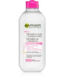 Garnier Skin Naturals apa micelara care contine lapte hidratant pentru piele uscata si sensibila