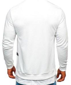 Bluză cu imprimeu bărbați alb Bolf 11114