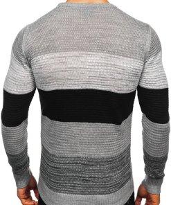 Pulover bărbați gri Bolf 4000