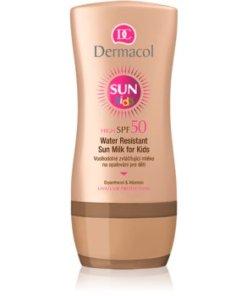 Dermacol Sun Kids Lotiune pentru protectie solara , rezistenta la apa, pentru copii SPF 50