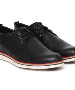 Pantofi barbati Andres cu perforatii Negru