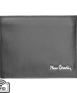 Portofel barbati din piele naturala Pierre Cardin GPB472 - cu Protectie RFID Negru