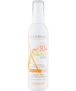 A-Derma Protect Kids spray pentru protectie solara SPF 50+ pentru copii