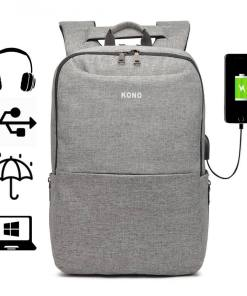 Rucsac barbati Smart laptop Collin Gri