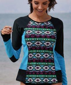 Costum De Baie In Dungi Fiona Multicolorat