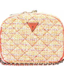 "GUESS Bouclé crossbody bag ""Cessily mini"" Multicolor"