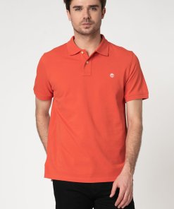 Tricou polo regular fit din bumbac organic 2578314