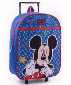 Troller albastru cu buline, Mickey Mouse