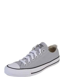 CONVERSE Sneaker low 'CHUCK TAYLOR ALL STAR - OX' alb / gri