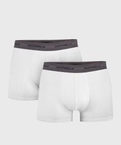 2 PACK boxeri barbatesti Uomo Comfort, alb