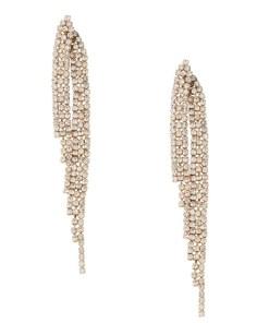Orelia Cercei 'Crystal Waterfall Earrings' auriu