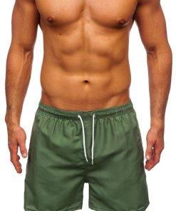 Pantaloni scurți de baie verzi Bolf ST001