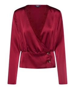 Missguided Bluză roÈ™u rubin
