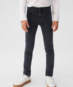 Mango Kids - Jeans copii Slim 110-164 cm UPYK-SJB003_90A