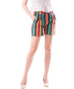Pantaloni Scurti Dama Panza KrezLinee Verde