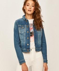 Tommy Jeans - Geaca jeans PPYK-KUD057_55J