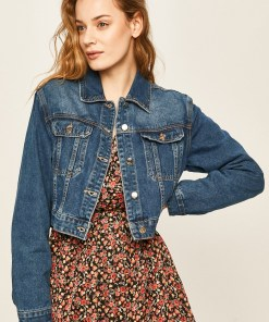 Answear - Geaca jeans BBYK-KUD029_55X