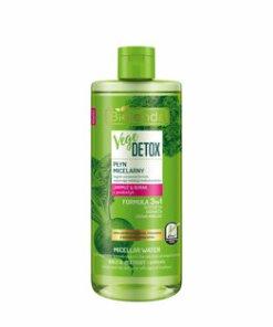 Apa micelara de fata normalizanta pentru piele mixta cu Sfecla si Nap + prebiotic Vege Detox, 500 ml