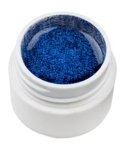 Gel UV Color cu Sclipici ENS PRO #022 - Blue Safir