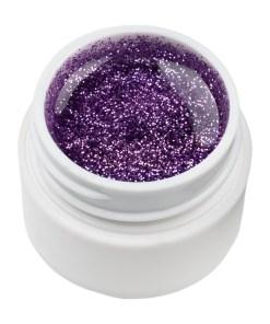 Gel UV Color cu Sclipici ENS PRO #025 - Titan Violet