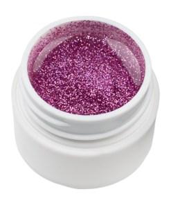 Gel UV Color cu Sclipici ENS PRO #027 - Liliac Glitter