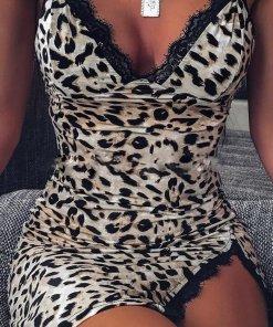 Rochie Mini Eleganta Danae Leopard