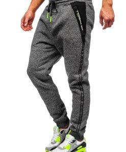 Pantaloni de trening grafit Bolf TC513