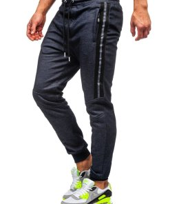 Pantaloni de trening bleumarin Bolf TC952