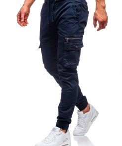 Pantaloni cargo bleumarin barbati Bolf CT6702
