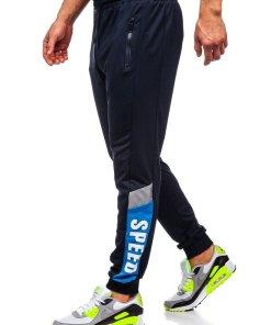 Pantaloni de trening joggers bleumarin Bolf HY717