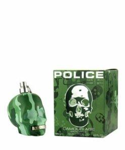 Apa de toaleta Police To Be Camouflage, 125 ml, pentru barbati