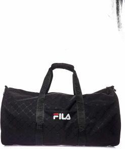 Fila Travel bag with logo Black