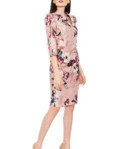 Costum cu fusta 1451 roz