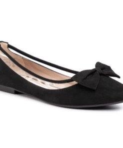 Balerini Jenny Fairy LS4585-11C De înaltă calitate,Material - Negru