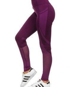 Colanți violet dame Bolf 54379