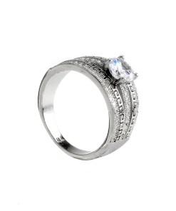 Inel argint logodna, marime 53