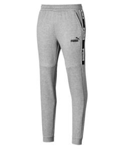 Pantaloni barbati Puma Amplified Fleece Mens Sweatpants 58043603