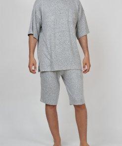 Pijama cu buzunar pe piept 2838289