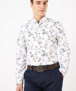 Camasa cu model floral 2665930