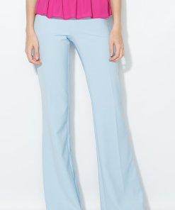 Pantaloni evazati bleu 164829