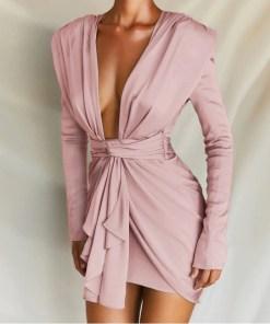 Rochie mini potrivita pentru orice petrecere Chic Divine Pink (Selecteaza Marime: S)