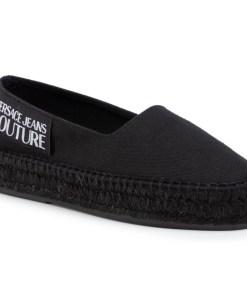Espadrile Versace Jeans Couture Negru