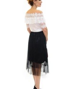 Fusta Feather Part Black