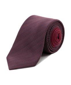 Cravată Tommy Hilfiger Tailored Vișiniu