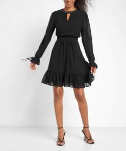 Rochie cu cristale Negru