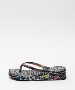 Papuci flip-flop wedge Jazzi 2889913