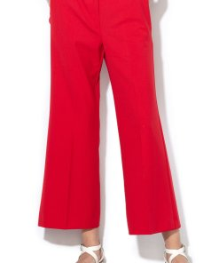Pantaloni crop cu croiala ampla Boschi 2150066