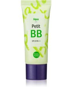 Holika Holika Petit BB Aqua cremă BB nuanțatoare pentru piele sensibilă și intolerantă SPF 25 HLKPBBW_KPSR05